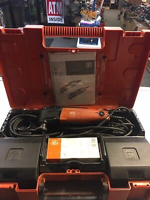 Fein Multimaster Fmm250Q Top Variable Speed Sanding/cutting/scraping Tool W/case