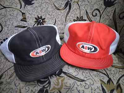 Lot of Vintage Rare A&W Patch Louisville Hat Cap Snapback Trucker