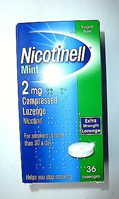 Nicotinell Mint Compressed Lozenges 2mg x 36