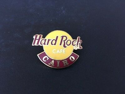 Hard Rock Cafe CAIRO TRADITIONAL CLASSIC LOGO Pin Badge