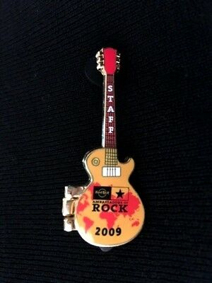 Hard Rock Cafe CALLING '09 AOR Staff (Only) SPRINGSTEEN Concert Pin Badge LE   .