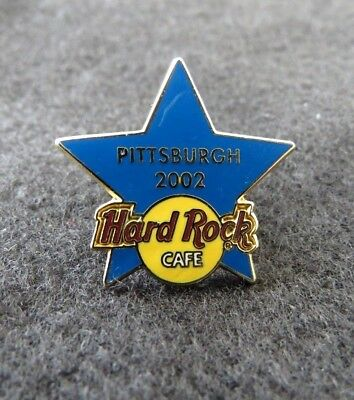 Hard Rock Cafe PITTSBURGH 2002 STAFF (Only) TRAINING STAR Pin Badge