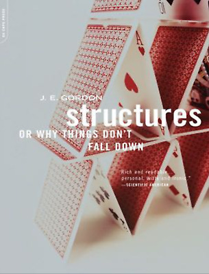 Structures or why things don't fall down by J.E. Gordon PDF (digital)