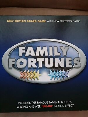 Family Fortunes Board Game - Brand New & Sealed
