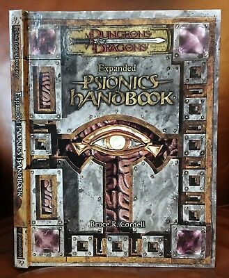 Dungeon & Dragons Expanded Psionics Handbook