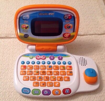 Vtech Tote And Go Laptop Orange Learning Educational Toy Computer