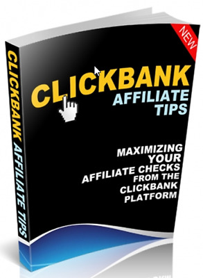 ClickBank Affiliate Tips W/ Master Resell Rights + 10 eBooks W/ MRR PLR
