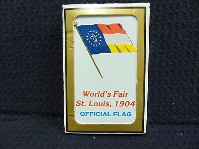 1904 St Louis World's Fair Official Flag Playing Cards