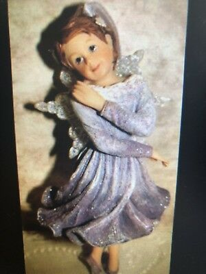faeriessence boyd's collection flower fairy hanging ornament