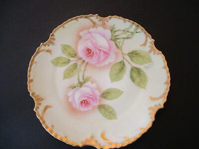 Royal Munich Marseille Hand Painted Plate--Signed by the Artist--Z S & c Bavaria