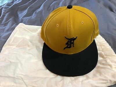 8abdd0af2db Fear Of God 5th Collection New Era 59FIFTY Fitted Cap Hat Gold Size 7 3