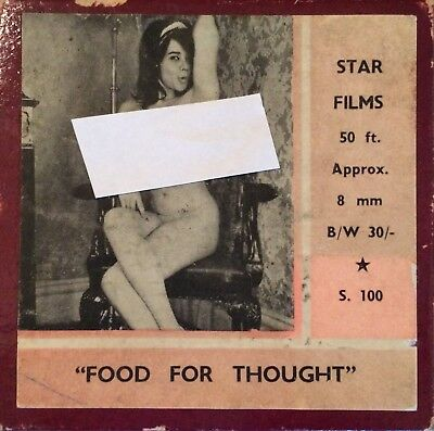 Food For Thought Std 8mm Glamor Film
