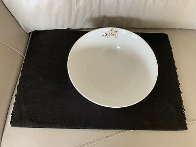 "Lenox Simply Fine ""Chirp"" Bone China 9.5"" Serving Bowl"