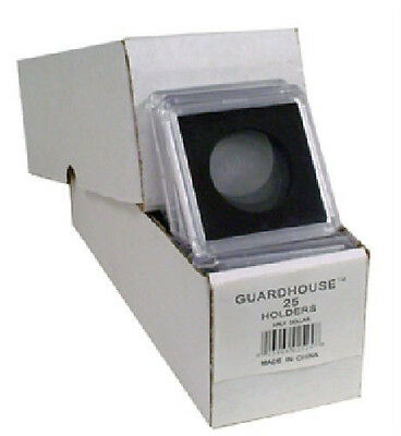 25 - Guardhouse 2x2 Tetra Snaplock Coin Holders for Half dollar 30.6mm
