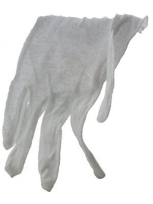 Large Cotton Glove for Handling Coins, Lightweight, 12 pairs