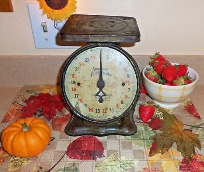 Vntg  American Family Scale Great Look For Display All Original Nice Patina