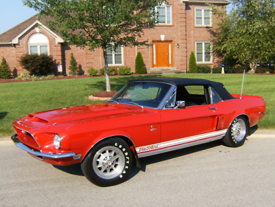 1968 Ford Mustang GT500KR 1968 Shelby Mustang GT500KR