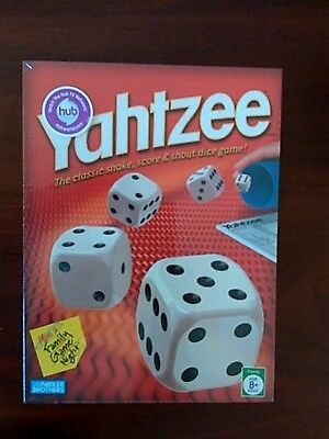 Yahtzee Classic Dice Game Bundle With Bonus 80 Score Card Pad NEW
