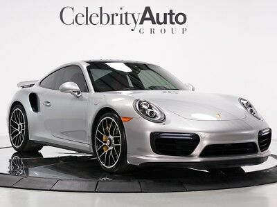 2017 911 Turbo S GT Silver/Red 2017 PORSCHE 911 TURBO S GT SILVER/RED