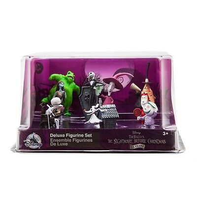 Official Disney Store The Nightmare Before Christmas Deluxe Figurine Figures Set