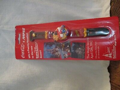 Coca-Cola Mickey Mouse  Watch in Original Package