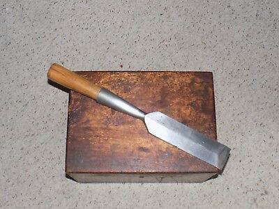 "Vintage James Swan 2 1/4"" Timber Framikng Socket Chisel"