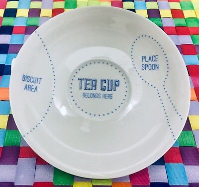 Arla Cravendale Replacement Saucer For Tea Cup Set. Spare Piece. Brand New