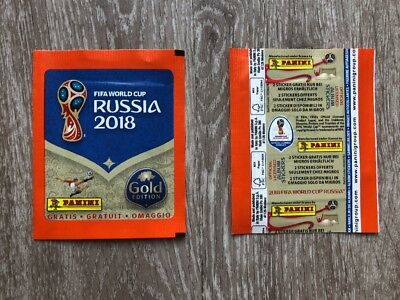 Panini WC Russia 2018 - Pochette Bustina Tüte Packet Gold Migros Suisse Swiss