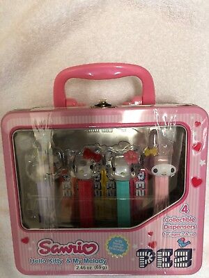 Hello Kitty & My Melody Pez Collectible Dispensers
