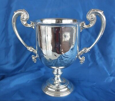 Substantial Hardy Bros. Hallmarked silver Trophy.
