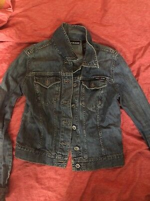Denim Jean Jackets Sz . M/S, Lot Of 4 Total. Polo Ralph Lauen , DKNY, Others
