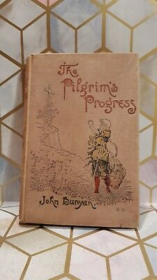 The Pilgrims Progress, By John Bunyan - C1895 , Sunday School Union - TBLO