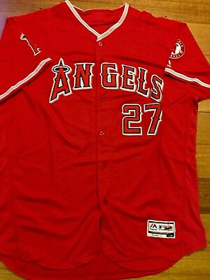 Mike Trout Los Angeles Angels Baseball Jersey MLB Size Medium Brand New 2018