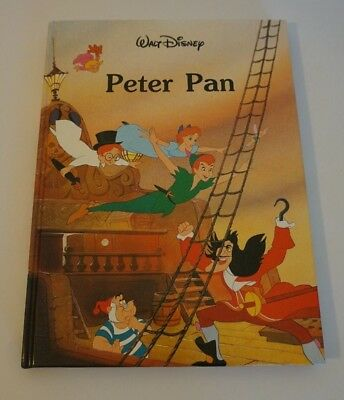Vintage Disney's Peter Pan Gallery Book (1986, Hardcover, 80 pages) Illustrated