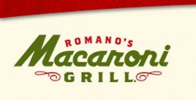 Romano's Macaroni Grill Gift Card $50 - (Email or Mail delivery)