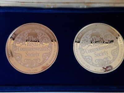 The Royal Commonwealth Society 25th Anniversary Coronation Commemorative Medals
