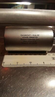 Vintage Gaumont Kalee colour corrected bloomed projection lens