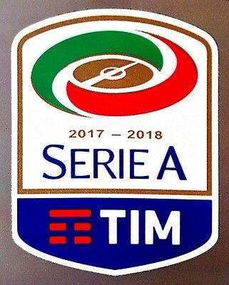 2017-18 Serie A TIM Lega Calcio OFFICIAL STILSCREEN Football Toppa Badge Patch