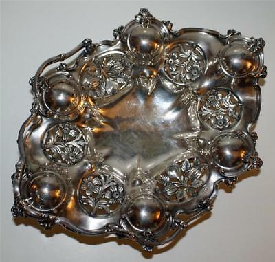 Antique Reed and Barton Silver Plate Bride's Basket-Stunning