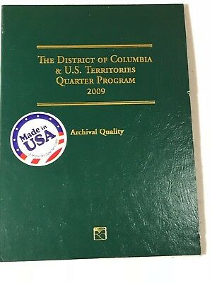 Mint Archival Quality 2009 DC and US Territories Complete Quarter set (12)