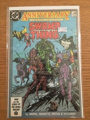 Swamp Thing #50 Comic Book DC 1986 1st App Justice League Dark