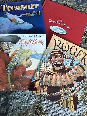Lot Of 4 Children's Books About Pirates