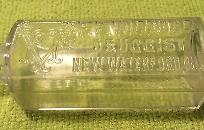 Old Pharmacy Bottle-P.F. Vollnogle-Druggest-New Waterford,Ohio