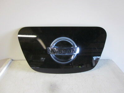 2011-2017 NISSAN LEAF Charging Port Door, Lid OEM Black hood