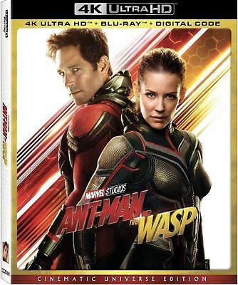 Ant-Man And The Wasp 4K Disk ONLY With Case, Cover & Slipcover