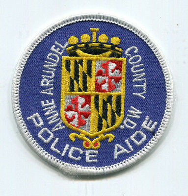 Anne Arundel County Maryland Police Aide Patch /// FREE US Shipping!