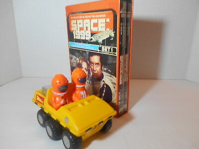 Azrak Hamway SPACE 1999 Moon Buggy ATV Friction Toy(1976) and Space 1999 Set One