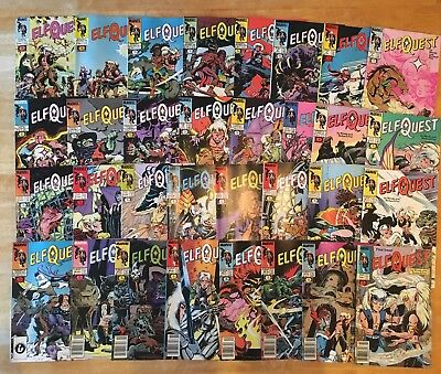 ELFQUEST COMPLETE SET 32 issues Marvel/Epic