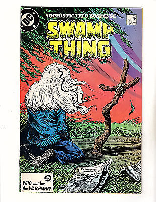 Swamp Thing #55 (1986, DC) VF- Alan Moore Rick Veitch Batman Deadman