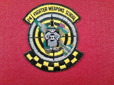 U.s.a.f....f-4  Fighter Weapons School, Pre-Owned, 70's,